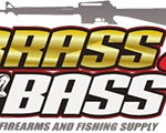 Brass & Bass Gun & Fishing Store Logo