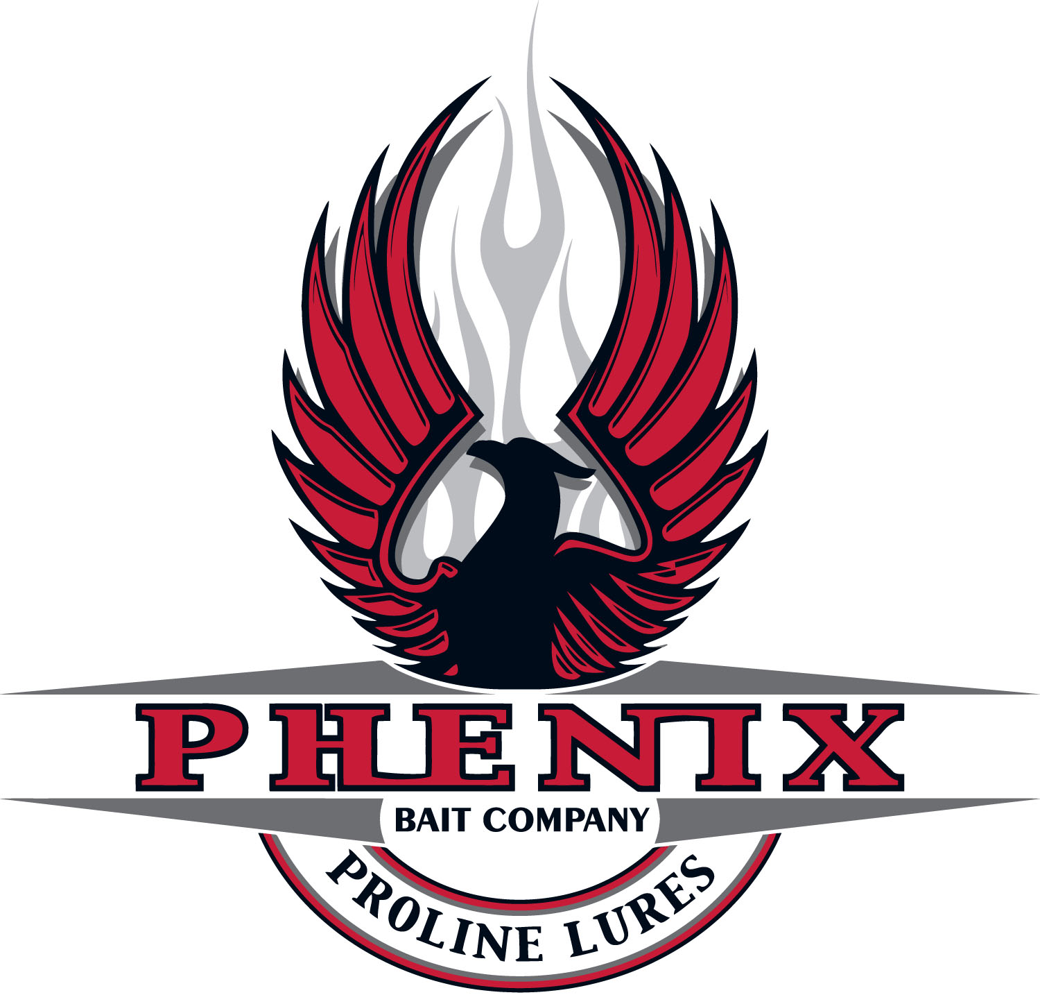 Phenix Lures logo vector